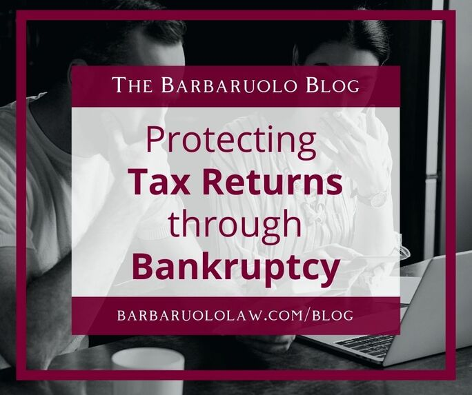 protecting tax returns through bankruptcy